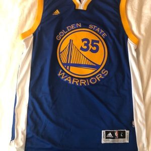 Golden State Warriors Kevin Durant Away Jersey